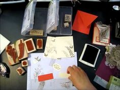 Stamp with Shallon: Stamp Club Projects - video tutorial number 1