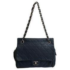Chanel - Handtasche in Blau