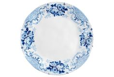 S/4 Cambridge Rose Dinner Plates, 10.5""