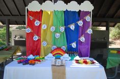 rainbows Girl Scout Bridge Ceremony Party Ideas | Photo 6 of 10