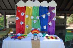 rainbows Girl Scout Bridge Ceremony Party Ideas | Photo 6 of 10