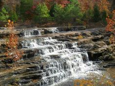 Original photo-Jenn J Shawnee National Forest, Southern Illinois, Beautiful Waterfalls, The Great Outdoors, Places To Go, Falling Waters, Camping, America, Vacation