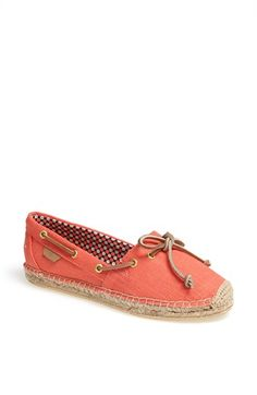 Sperry Top,Sider® Katama Flat available at Nordstrom. They also