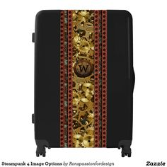 Steampunk 4 Image Options Luggage