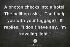 Photon humor from the lab....