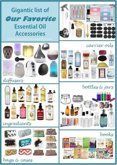 great big gigantic list of our favorite essential oil accesories