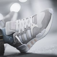 release date: 7304c e9343 adidas ZX930 x EQT Never Made - Triple White  43einhalb Sneaker Store