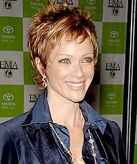 short hair, spikey ~ love this!: short hair, spikey ~ love this! Short Grey Hair, Very Short Hair, Short Hair With Layers, Short Hair Cuts For Women, Layered Hair, Short Cuts, Short Spiky Hairstyles, Short Haircut Styles, Cute Short Haircuts