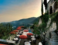 Chateau de la Chevre d'Or @ Eze, France...been here birds pooped on my sister ha ha