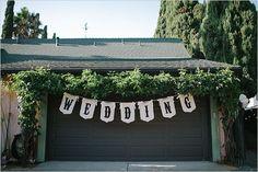 Wedding in your backyard... or: