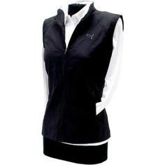 Puma Women's Golf Wind Vest - Black