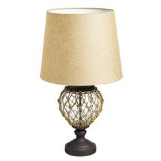 Rope Lamps! Discover the best rope themed lamps for your nautical home.