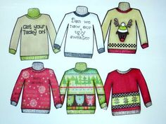 Ugly Sweater Weather Stamp Set Release - YouTube