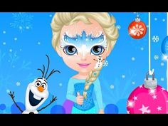 Frozen Elsa Baby Barbie Face Painting - Elsa Learn Coloring And Drawing For Kids Cartoon Games, Cartoon Kids, Elsa Baby, Elsa Outfit, Baby Barbie, Elsa Frozen, Drawing For Kids, Games For Kids, Kids Outfits