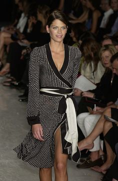 Donna Karan at New York Fashion Week Spring 2003