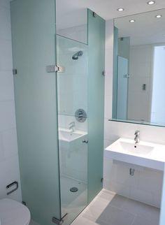 Single Stall Shower Small Bathroom Design Ideas