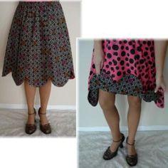 Reversible Petal Skirt - Jr's-Plus Sizes | YouCanMakeThis.com