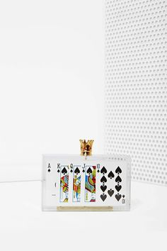 Ashlyn'd Royal Flush Acrylic Clutch | Shop Accessories at Nasty Gal $452 are you kidding me?!