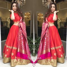 Indian Bridal Lehenga, Indian Bridal Fashion, Indian Wedding Outfits, Indian Outfits, Wedding Dresses, Indian Attire, Indian Ethnic Wear, Desi Clothes, Indian Couture