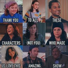 Thank you to the whole cast and crew of Gilmore Girls for making such a wonderful show! Gilmore Girls Characters, Gilmore Girls Funny, Watch Gilmore Girls, Gilmore Girls Quotes, Lorelai Gilmore, Gilmore Girls Logan, Gilmore Girls Fashion, Gilmore Girls Tattoo, Team Logan