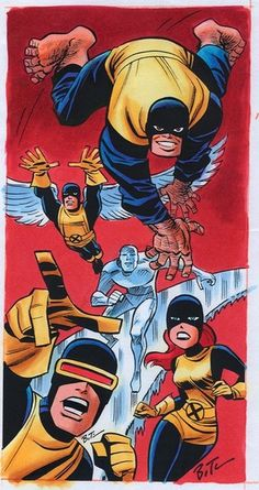 The X-MEN Bruce Timm (Batman the Animated Series) takes on Marvel Bruce Timm, Comic Book Artists, Comic Artist, Comic Books Art, Marvel Comics Art, Marvel Heroes, Marvel Movies, Character Drawing, Comic Character