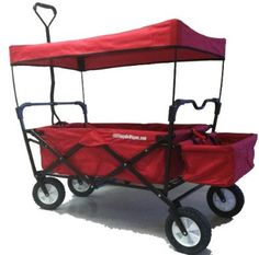 foldable utility wagon with canopy