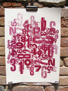 work by cabaret typographie letterpress, poster, type, typography, letters, wood type