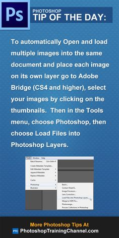 To automatically Open and load multiple images into the same document and place each image on its own layer go to Adobe Bridge (CS4 and higher), select your images by clicking on the thumbnails.  Then in the Tools menu, choose Photoshop, then choose Load Files into Photoshop Layers.
