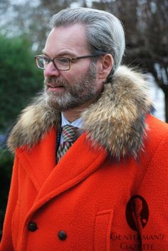 With a genuine casentino overcoat