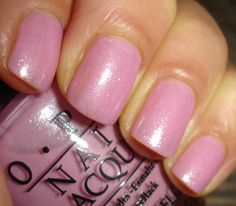 """OPI - """"Pedal Faster Suzi!"""".... I have way too much pink nail polish, but I love this one too!!"""