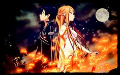 A little photo editing goes a long way. Photo edit of: Sword Art Online.