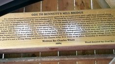 Bennett's Mill Covered Bridge in Kentucky sort of near the Carter Cave State Park taken May 2016