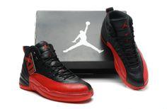 Air Jordan Retro 12 AAA Men's shoes Black/Red