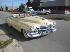 1951 Cadillac Convertible.Re-pin brought to you by agents of #carinsurance at #houseofinsurance in Eugene, Oregon