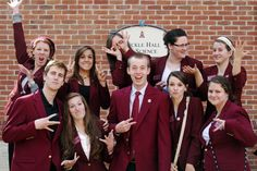 Congratulations to our 2011-2012 Maroon Jackets on graduating. We know you will all go on to do great things!