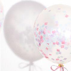 DIY Confetti Balloner med Søstrene Grene  Fest og ballade i ferien - fyld balloner med confetti og farver.