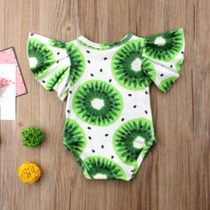 Kiwi Paradise Ruffle Swimsuit from kidspetite.com!  Adorable & affordable baby, toddler & kids clothing. Shop from one of the best providers of children apparel at Kids Petite. FREE Worldwide Shipping to over 230+ countries ✈️  www.kidspetite.com  #girl #infant #swimwear #beach #swim #baby #newborn #swimsuit Baby Girl Swimwear, Hot Dads, Swimsuit Material, Little Games, Ruffle Swimsuit, Daddys Little, Baby Newborn, More Cute, Two Piece Swimsuits