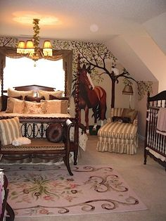 Charmant 32 Beautiful Horse Themed Bedroom For Your Inspirations
