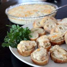Hot Crab Dip  1 pound lump crab meat 1 8 oz. package cream cheese ½ cup sour cream 1 Tablespoon lemon juice ½ teaspoon Worcestershire sauce 1 Tablespoon fresh parsley, chopped 1 teaspoon mustard 1 Tablespoon Old Bay 1 1/4 cup shredded cheddar cheese, divided ½ cup shredded mozzarella cheese  350, 25 mins