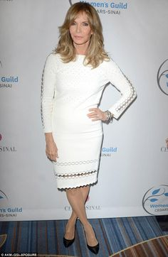 Classy: Jaclyn Smith continues to turn heads as she proved when she stepped out in LA on Thursday
