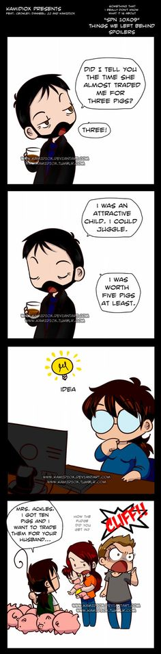 I think a few women would be trying this if they thought they could get away with it. Trade by KamiDiox on DeviantArt