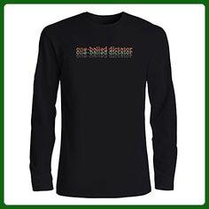 Idakoos - One Balled Dictator repeat retro - Drinks - Long Sleeve T-Shirt - Retro shirts (*Amazon Partner-Link)
