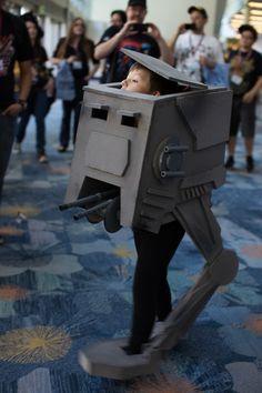 Cute AT-ST at WonderCon 2013