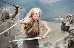 Chronicles of Narnia...the incomparable Tilda Swinton.