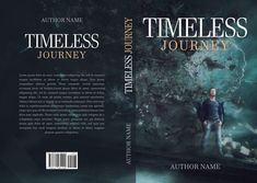 "Premade book cover ""Timeless Journey"" available for sale on my web site."