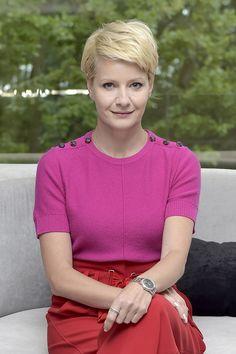 """Małgorzata Kożuchowska na planie serialu """"Druga szansa"""""""
