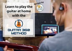 Guitar lessons at home with Guitar 360 Method online lessons. School Reviews, Online Lessons, Guitar Lessons, Acoustic Guitar, Learning, Bloom, Guitar Classes, Acoustic Guitars, Education