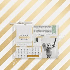 1 photo + journal cards + plastic pockets. Love this digi kit!