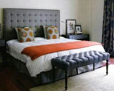 Love this look for a bedroom