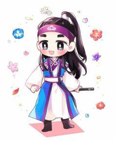 "Hermoso Fans Art - #Minho en ""Hwarang"